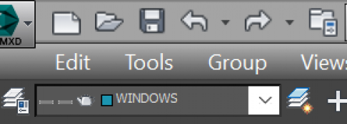 The panel Edit, Tools, Group, ... in 3ds max disappeared?