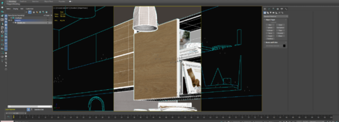 The object is not displayed in 3ds max layers